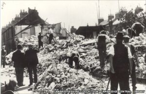Vicarage Terrace Bombing CC 2 - Cambridgeshire Collection, Cambridge Central Library