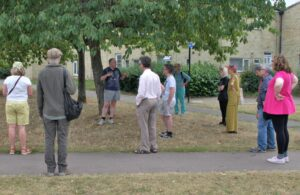 Cab Davidson Hedge Hoardings walking tour 13 Sept. 2021